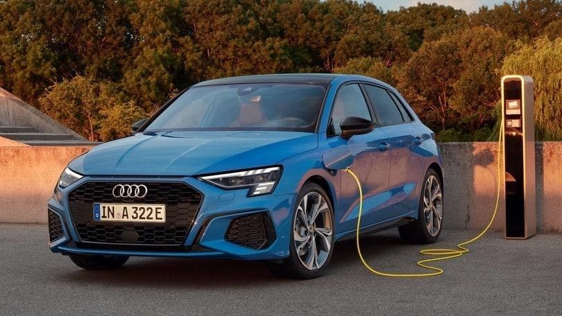 Audi A3 Sportback, consumi minimi per la variante plug-in