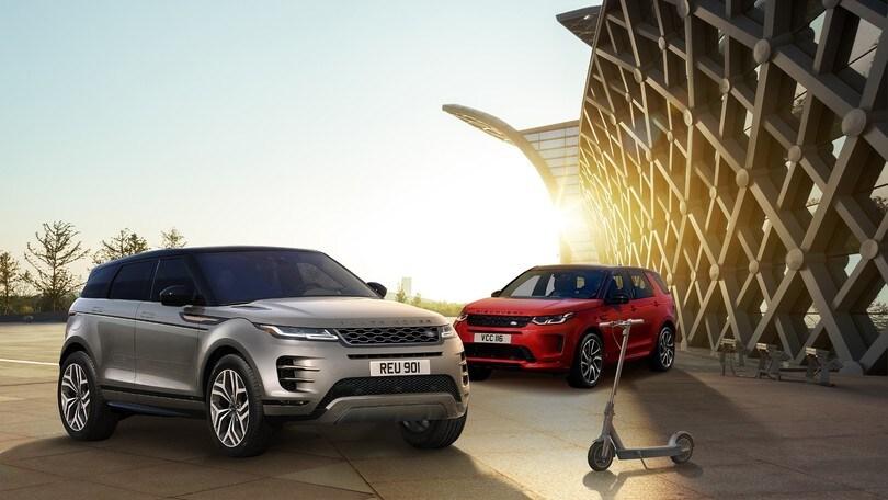 Land Rover e Segway: un monopattino per Evoque e Discovery Sport