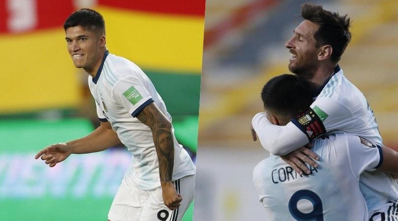 Super Correa con l'Argentina: gol e abbraccio con Messi!
