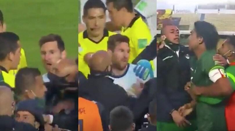 Messi furioso, viene provocato e reagisce: scoppia la rissa!