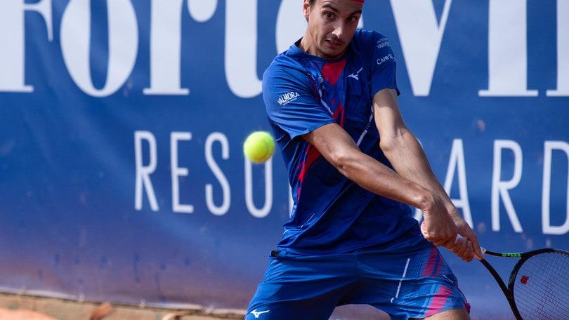 Sardegna Open, Sonego out al secondo turno