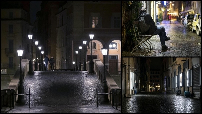 Roma deserta: ecco gli effetti del nuovo Dpcm sulla movida