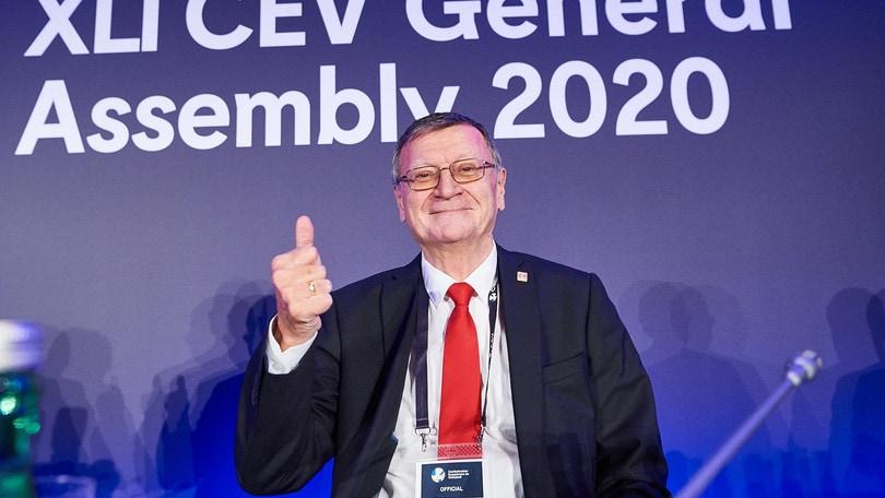 Boricic confermato alla presidenza della Cev
