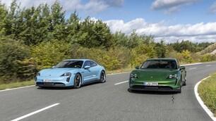 Porsche Taycan, la prova: gli scatti