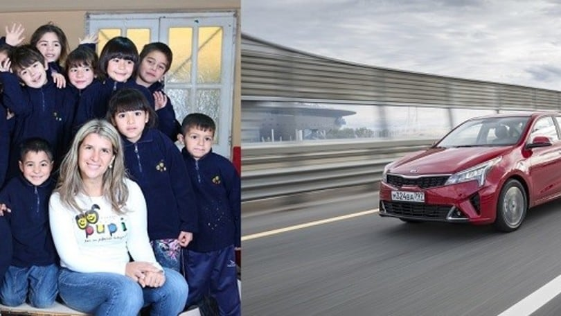 Kia aiuta i bambini insieme alla Fondazione P.U.P.I. di Javier Zanetti