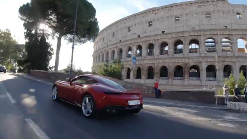 Ferrari Roma, un privilegio nell'eleganza degli anni 60