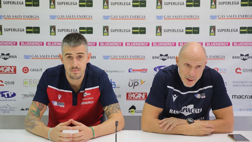 Piacenza ha presentato Michele Baranowicz
