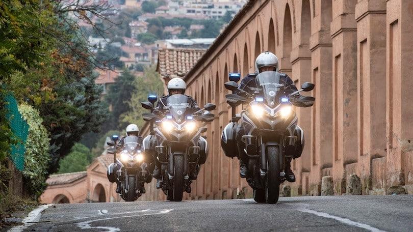 Ducati, 25 Multistrada 950 consegnate alla Polizia Locale di Bologna