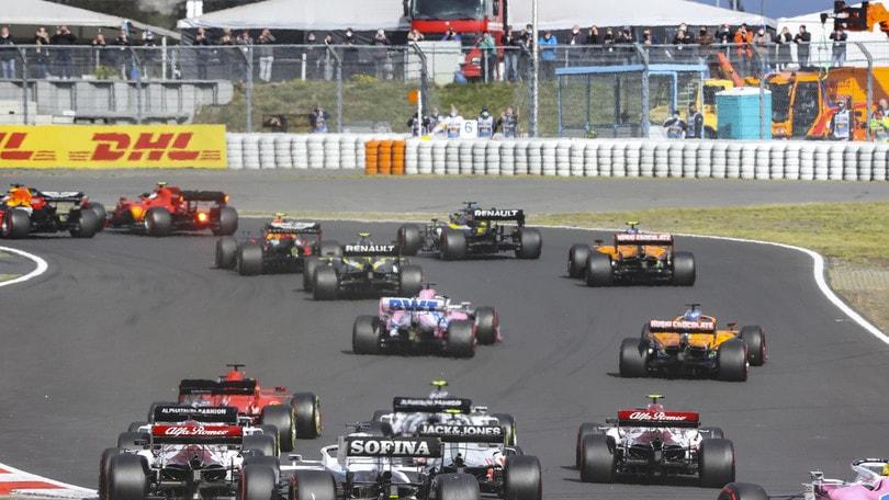 F1, otto positivi al coronavirus dopo gli ultimi test su piloti e staff