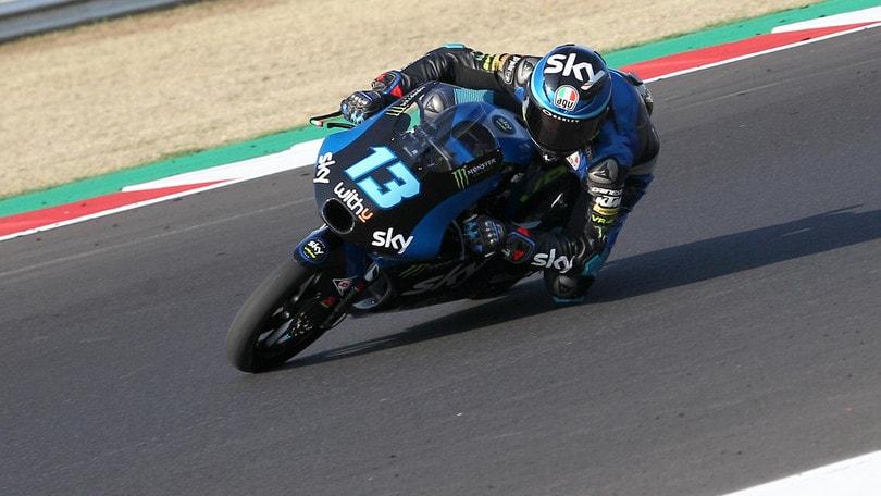Gp Aragon: Fernandez centra la pole in Moto3, Vietti secondo
