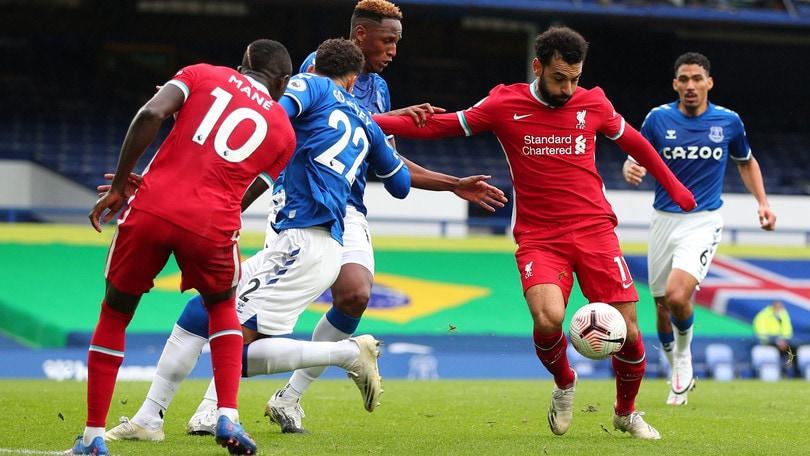 Finisce 2-2 Everton-Liverpool. Tre positivi nel Torino VIDEO