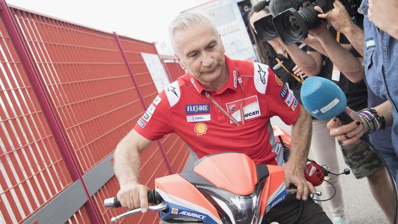 """Ducati, Tardozzi: """"Non possiamo chiedere ai piloti di aiutare Dovizioso"""""""