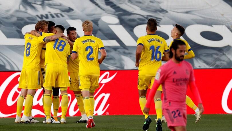 Real Madrid, clamorosa sconfitta con la neopromossa Cadice