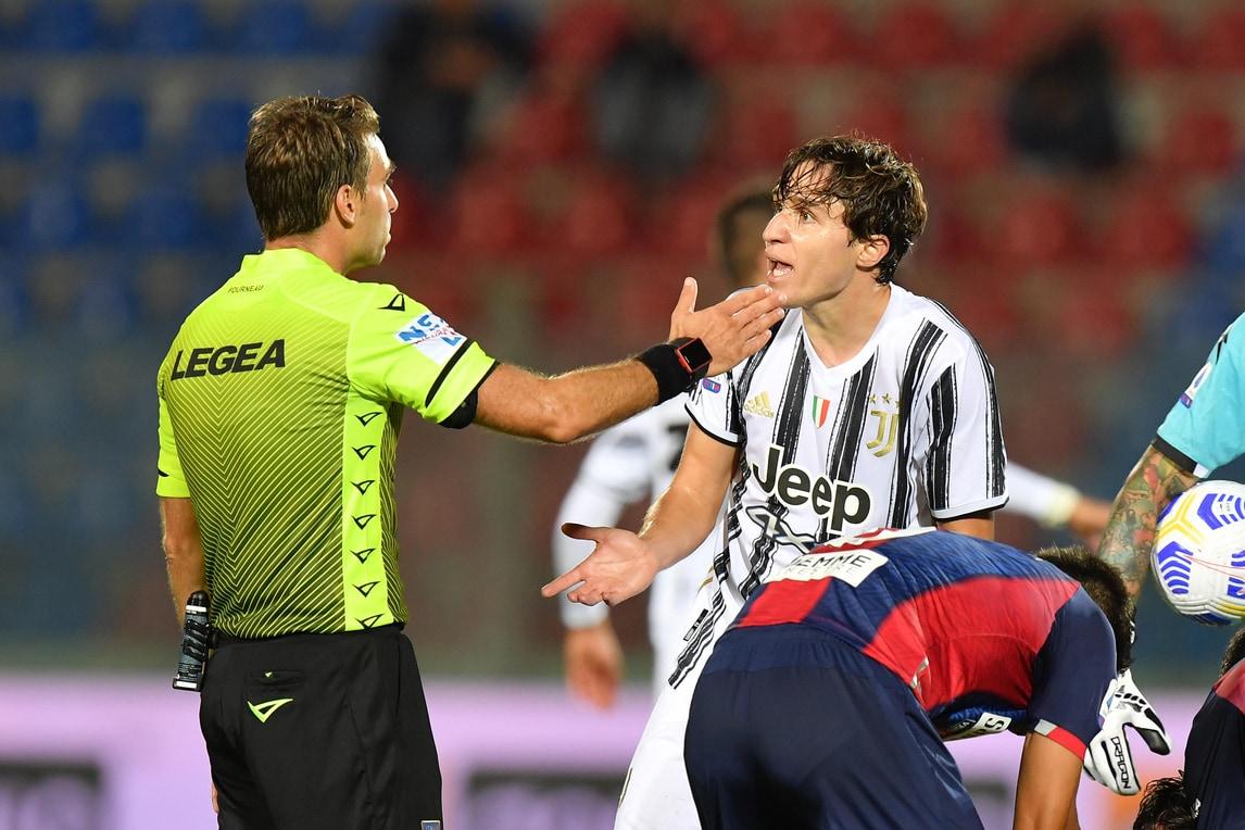 Crotone-Juve 1-1: Morata risponde a Simy. Chiesa si fa espellere  all'esordio! - Corriere dello Sport