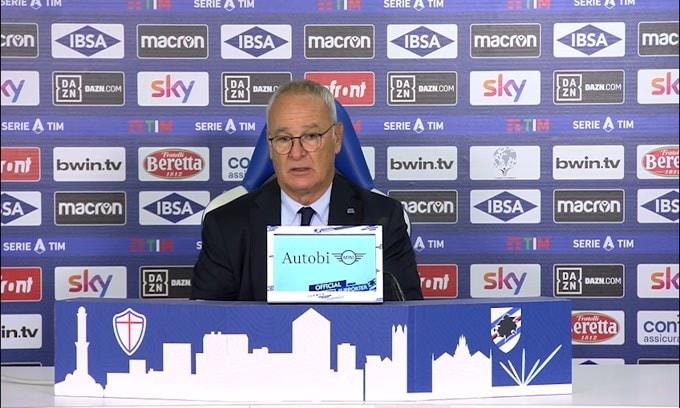 """Ranieri: """"3-0 ci fa dimenticare la sconfitta con il Benevento"""""""