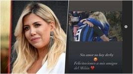 Wanda Nara, post al veleno contro l'Inter
