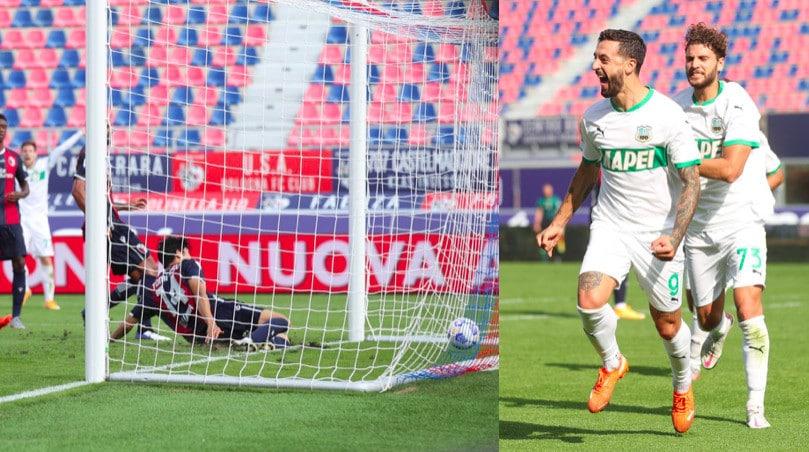 Bologna, decisivo l'autogol di Tomiyasu: vince il Sassuolo
