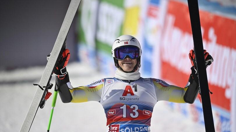 Coppa del Mondo sci: Braathen vince slalom gigante, De Aliprandini migliore degli azzurri