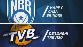 Happy Casa Brindisi - De' Longhi Treviso Basket 99-83