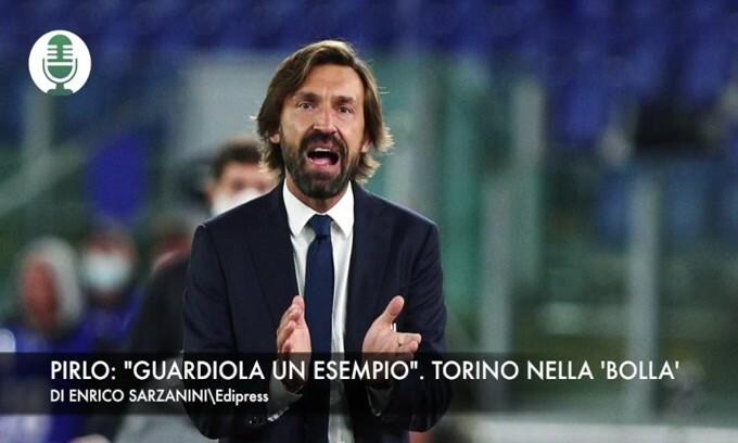 """Pirlo: """"Mi ispiro a Guardiola"""". Torino, scatta la 'bolla'"""
