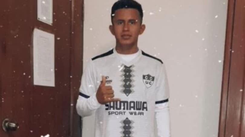 Osama Vinladen is in Peru, but he is 18 years old and plays in the Segunda Division