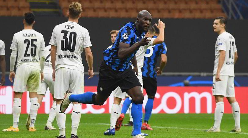 Le pagelle di Inter-Borussia M'Gladbach (2-2): un punto firmato Lukaku