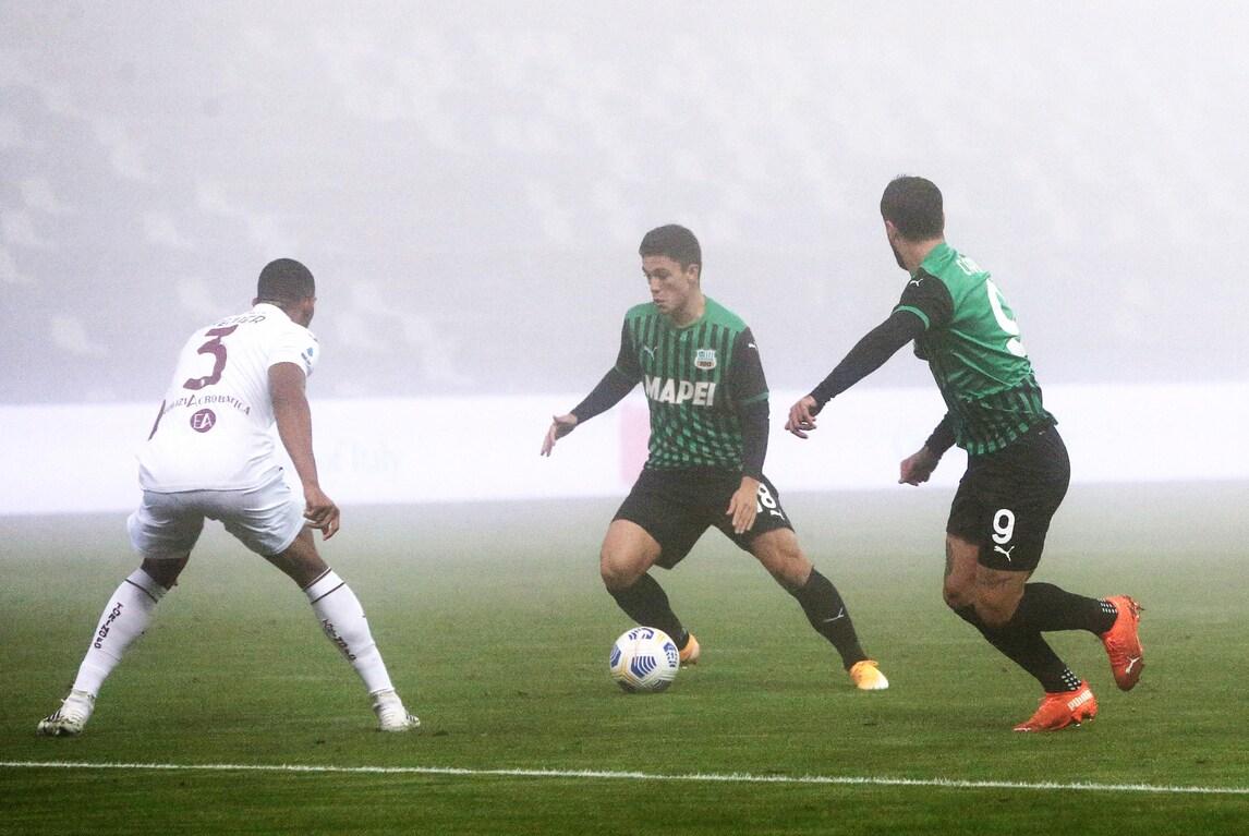 Sassuolo, altra rimonta show: da 1-3 a 3-3 contro il Torino