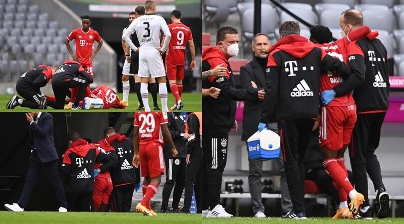 Davies spaventa il Bayern: caviglia ko dopo soli 3'
