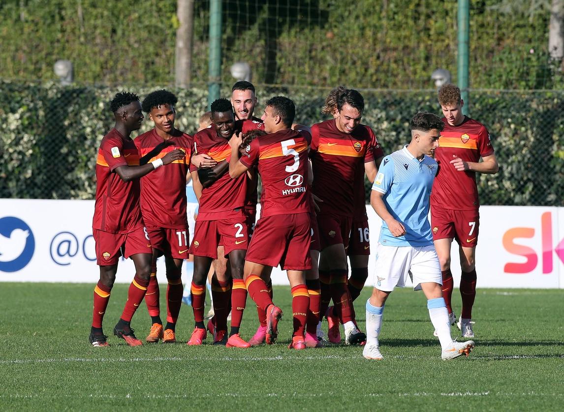Roma show nel derby Primavera con la Lazio