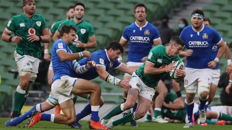 Sei Nazioni, Italia crolla a Dublino: l'Irlanda vince 50-17