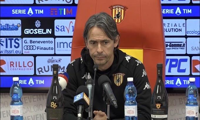 """Filippo Inzaghi: """"Col Napoli non abbiamo nulla da perdere"""""""