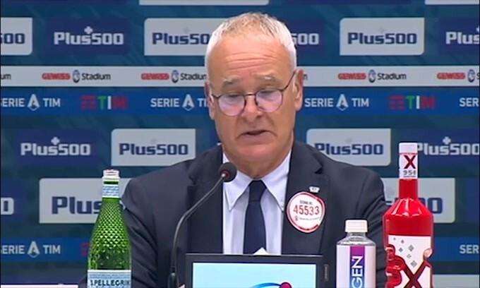 """Ranieri: """"Abbiamo giocato con personalità"""""""