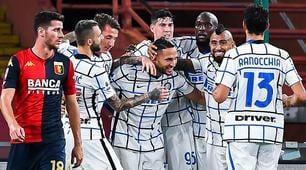 Genoa-Inter 0-2: decidono i gol di Lukaku e D'Ambrosio
