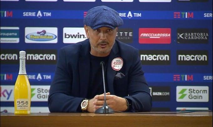 """Mihajlovic: """"Giochiamo meglio degli avversari, ma perdiamo"""""""