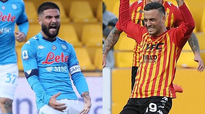Insigne show in Benevento-Napoli: in gol i fratelli Lorenzo e Roberto