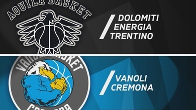 Dolomiti Energia Trentino - Vanoli Basket Cremona 85-83