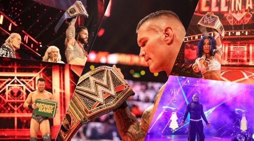 WWE Hell in a Cell 2020, Randy Orton torna campione del mondo