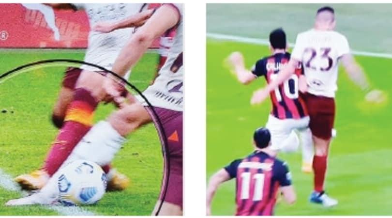 Milan-Roma, Giacomelli choc inventa rigori - Corriere dello Sport