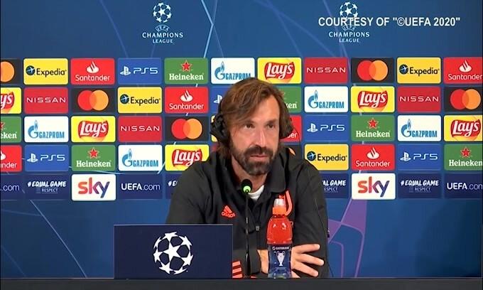 """Pirlo: """"Juve-Barca non sarà decisiva"""""""