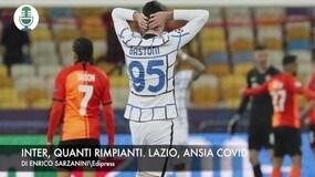 Champions: Inter, quanti rimpianti. Lazio, ansia Covid