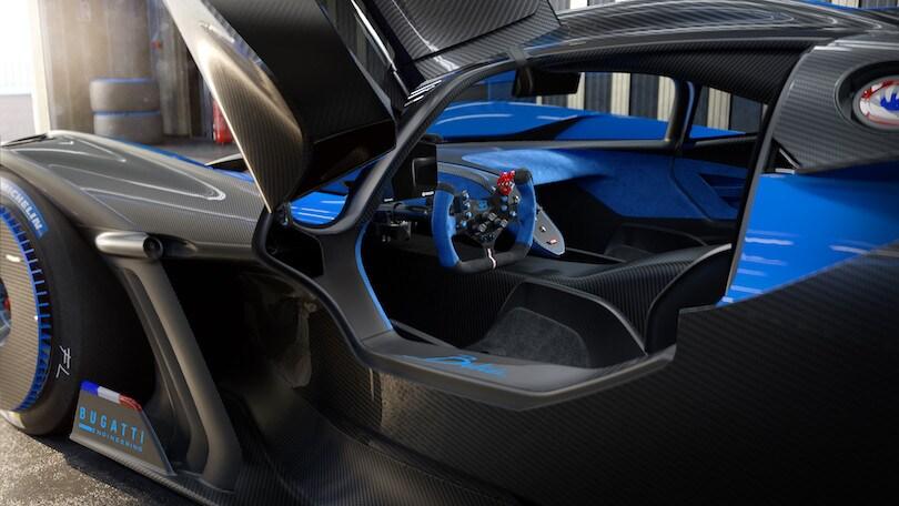 Bugatti Bolide: gli scatti