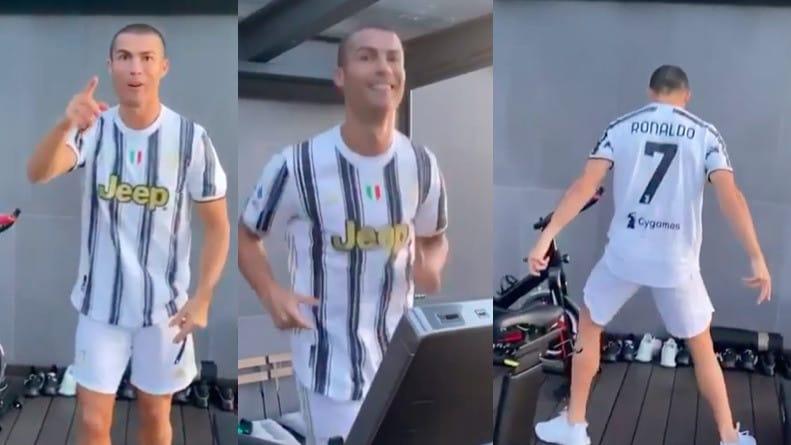 """Ronaldo, video su Instagram per caricare i compagni: """"Forza ragazzi"""""""