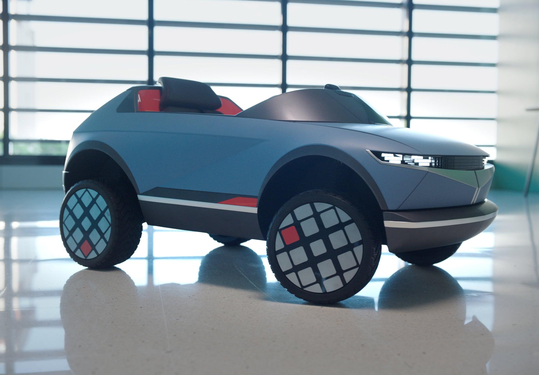 Hyundai elettrica per bambini FOTO