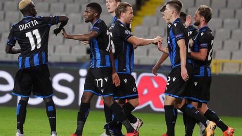 Bruges, 25 tifosi denunciati: hanno salutato la squadra prima del match con la Lazio