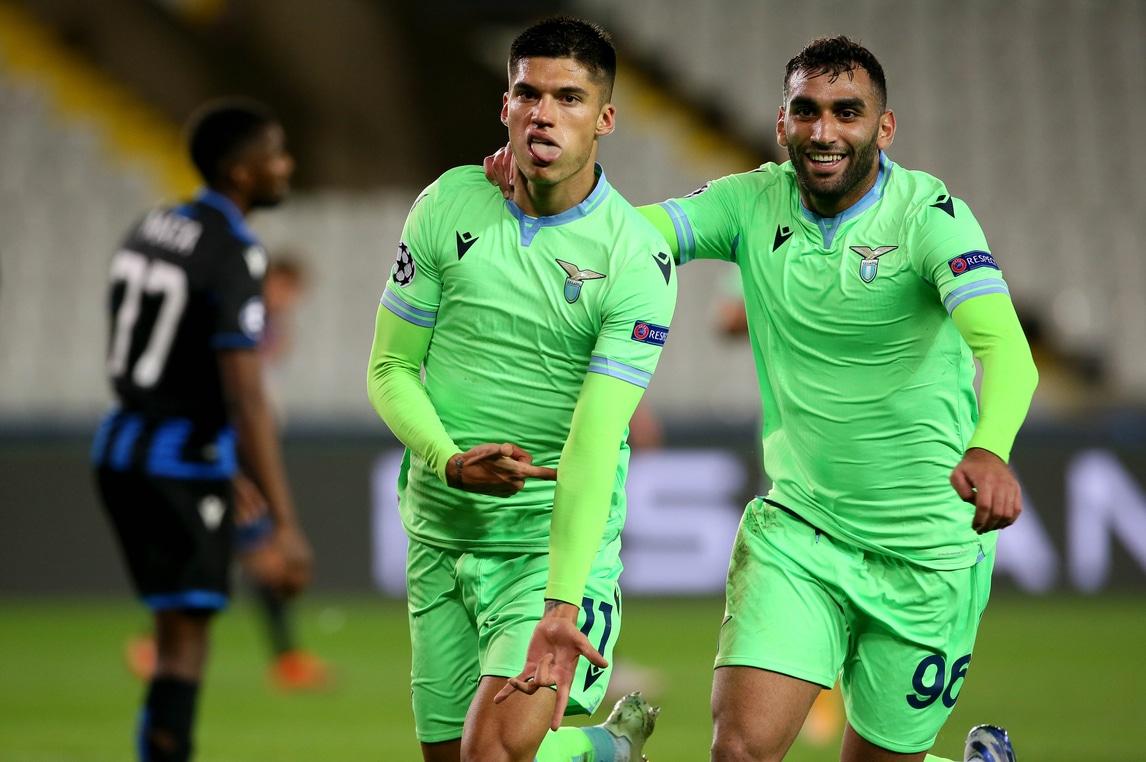 Bruges-Lazio 1-1, il tabellino