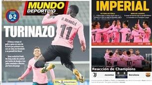 Juve ko, il trionfo del Barcellona sui siti e i quotidiani spagnoli