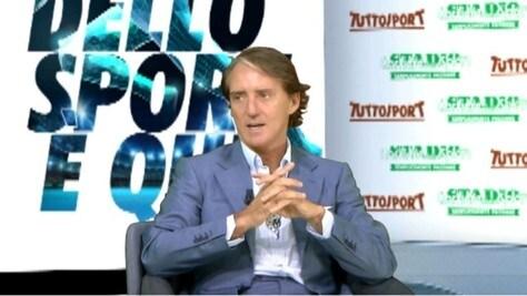 """Mancini: """"Balotelli? Mi spiace vederlo in questa condizione"""""""
