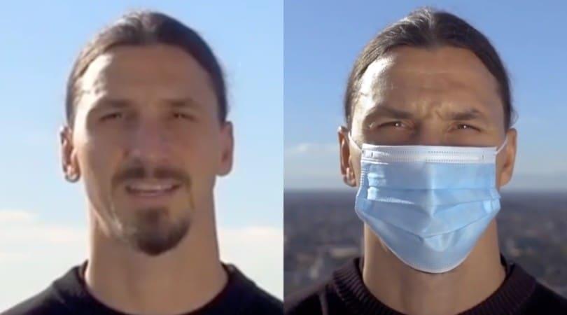 """Ibrahimovic, lo spot contro il Covid: """"Non siete Zlatan, non sfidate virus"""""""