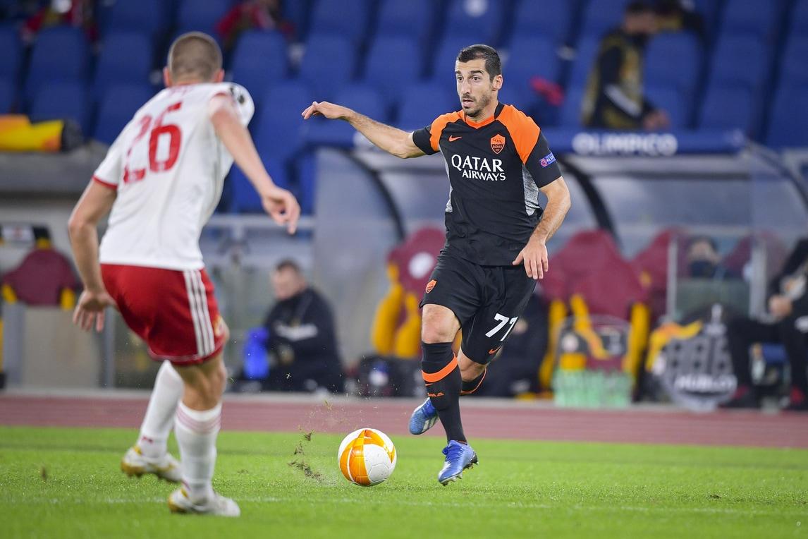 Mkhitaryan sbatte contro la traversa: solo 0-0 tra Roma e Cska Sofia
