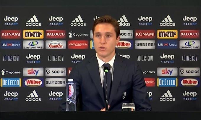 """Chiesa: """"Orgoglioso di vestire la maglia della Juve"""""""